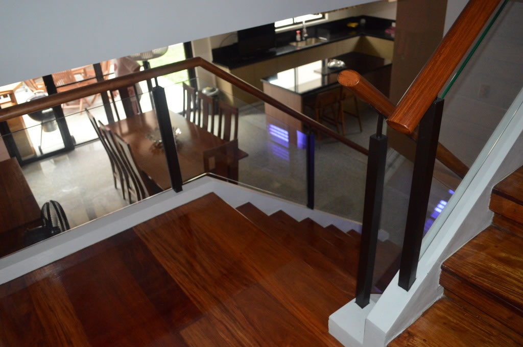 Glass Modern Stair Railing Glass Railings Philippines