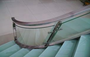 Glass Railing, Tempered Glass Railing