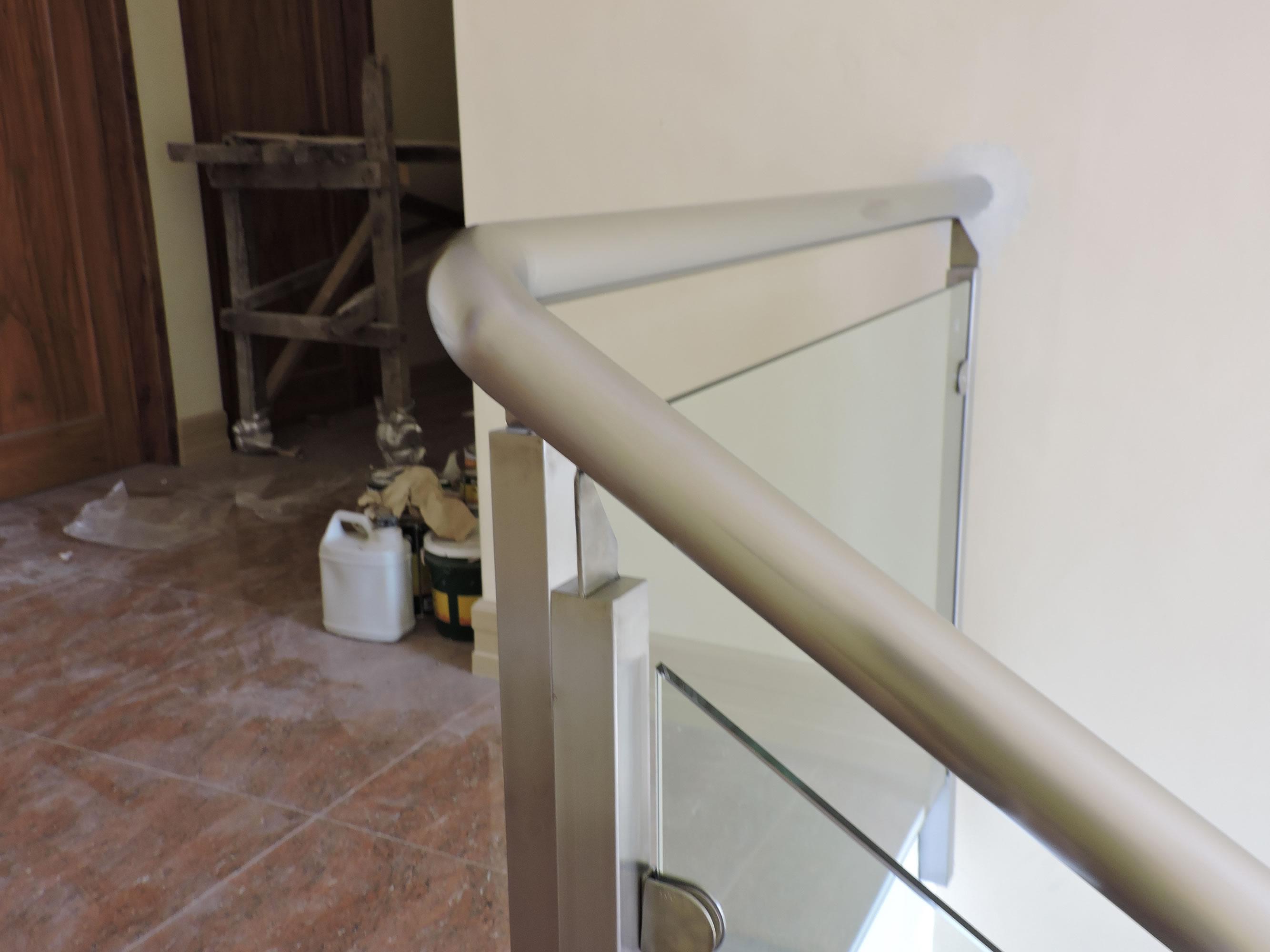 Glass Stair Railing Biocol Albay Philippines