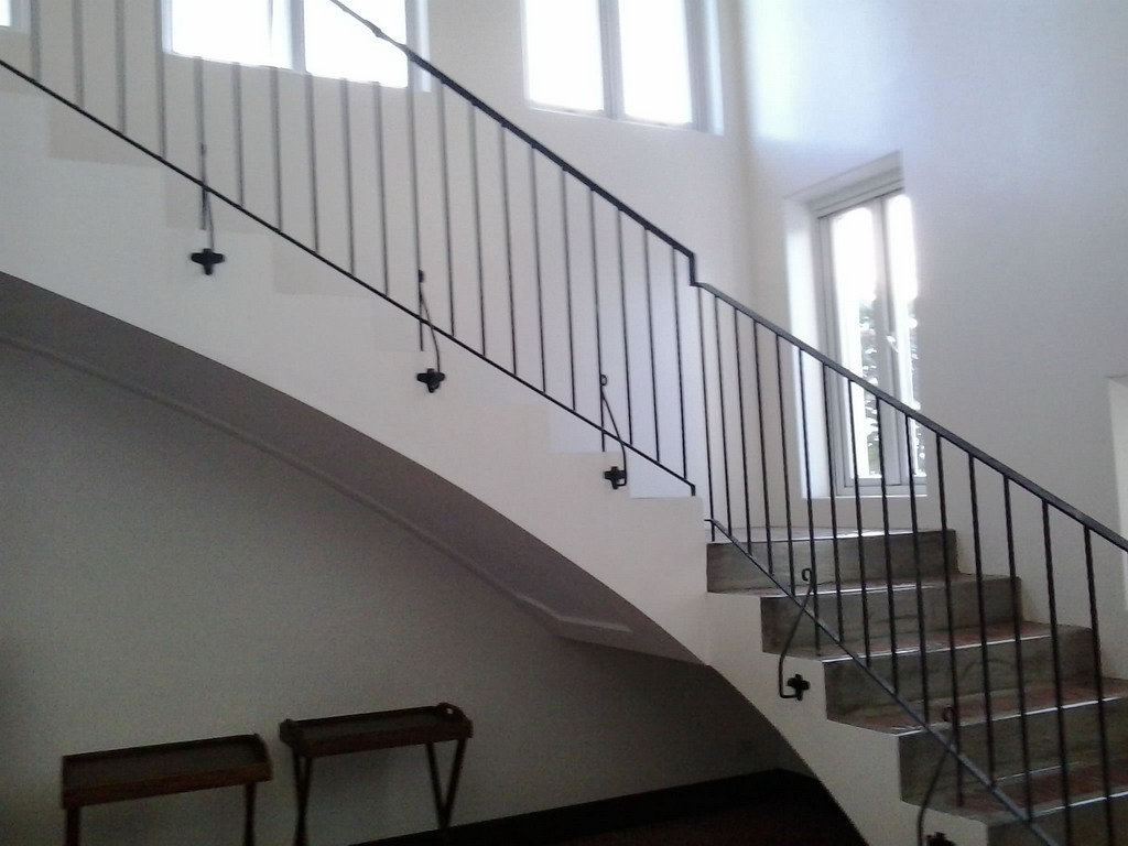 Stair Railing Simple Design | Glass Railings Philippines ...