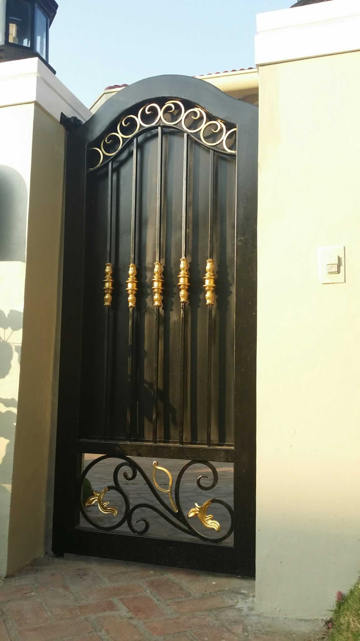 Pedestrian Steel Gate Glass Railings Philippines Glass