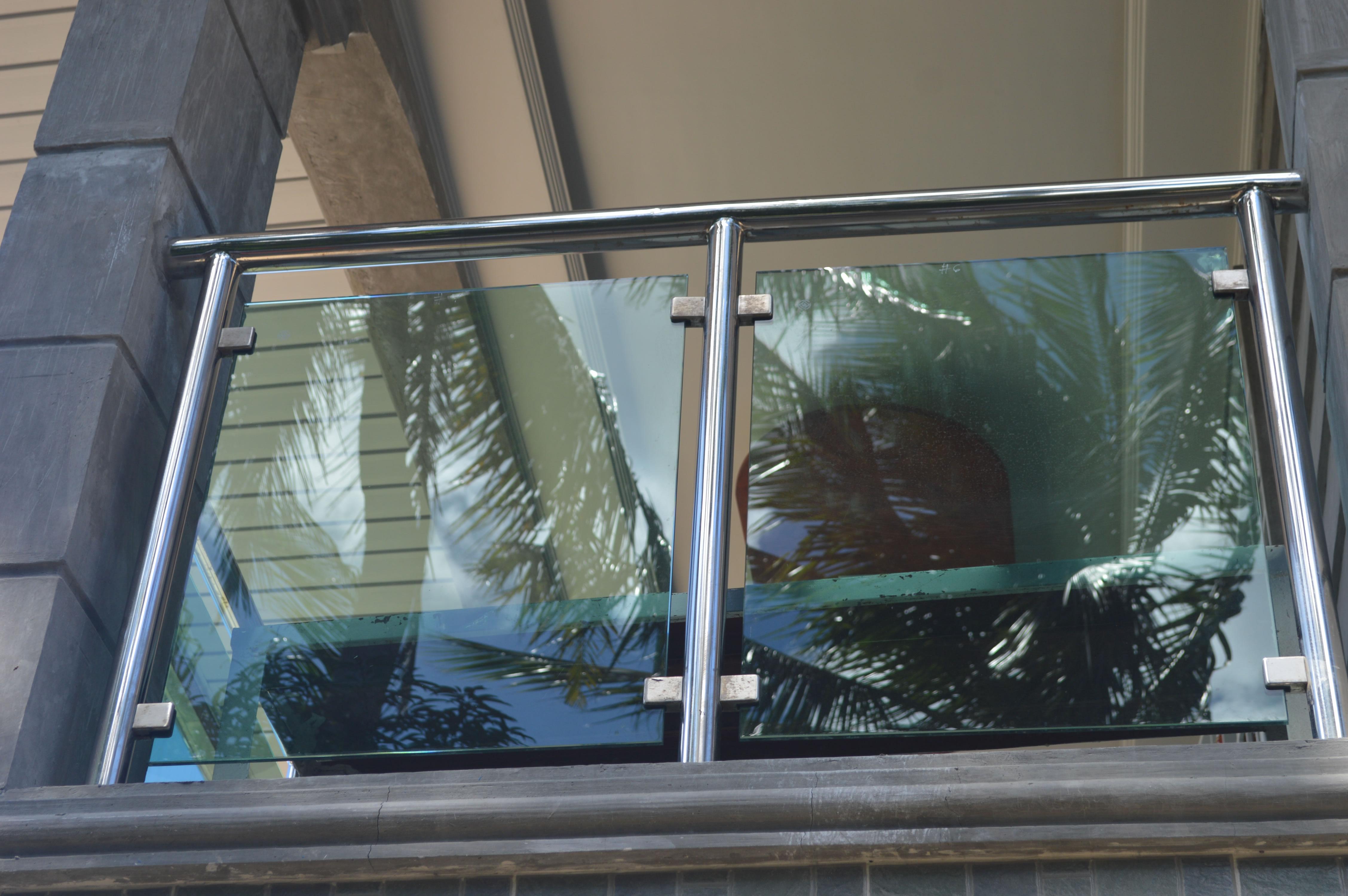 Modern Glass Balcony Railing | Glass Railings Philippines ...