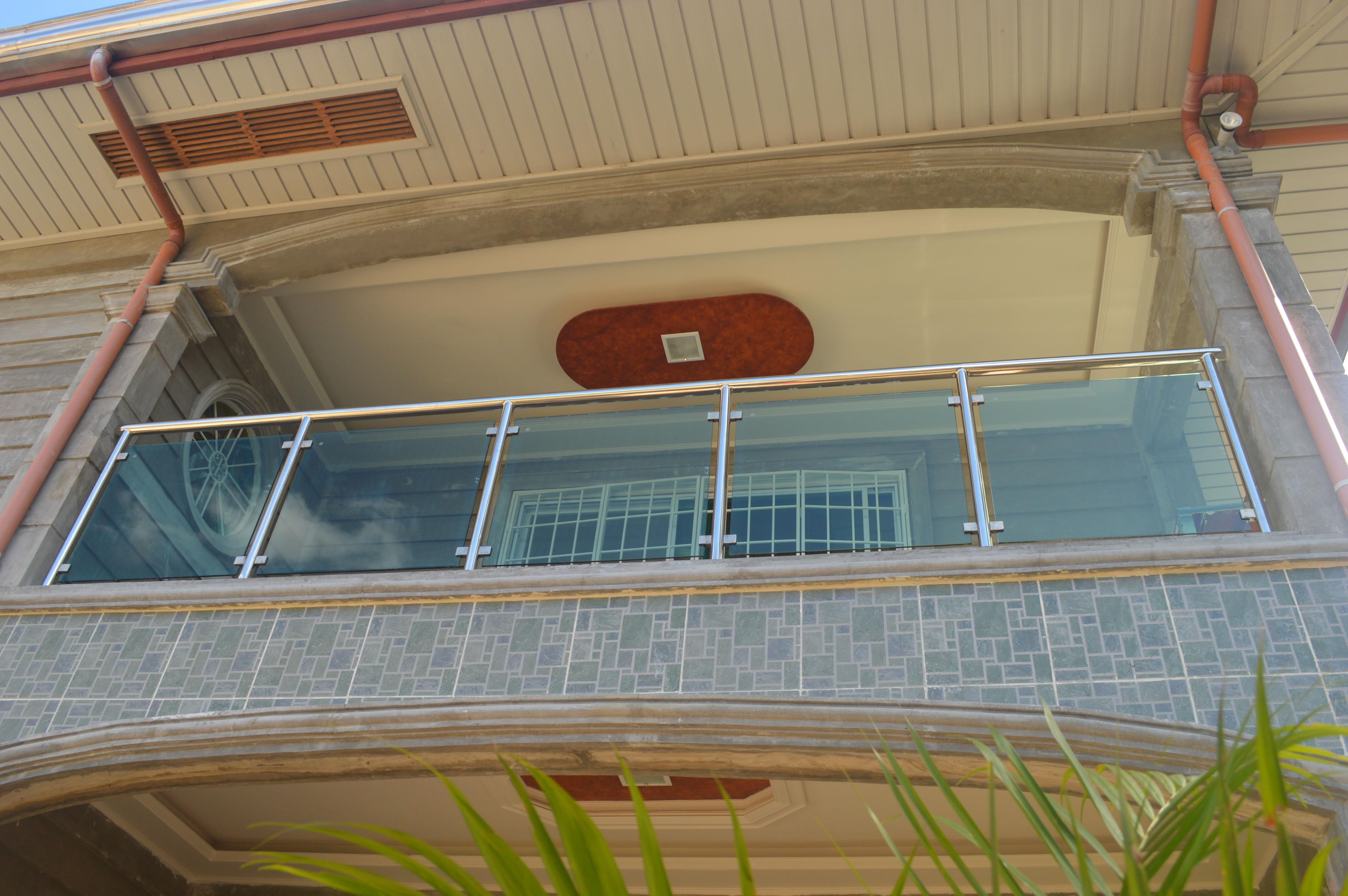 Modern Metal Balcony Railing Modern House - Modern House