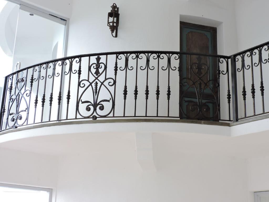 Stair Railing Mediterranean Design Glass Railings