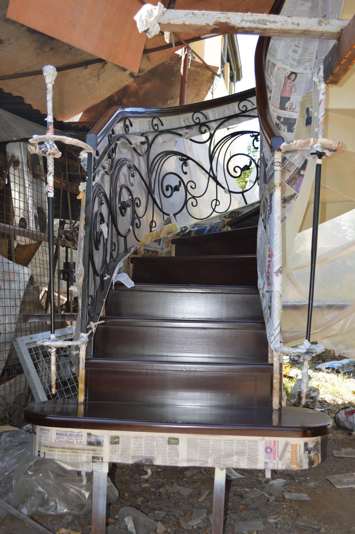 Spiral Stair Glass Railings Philippines Glass Railing