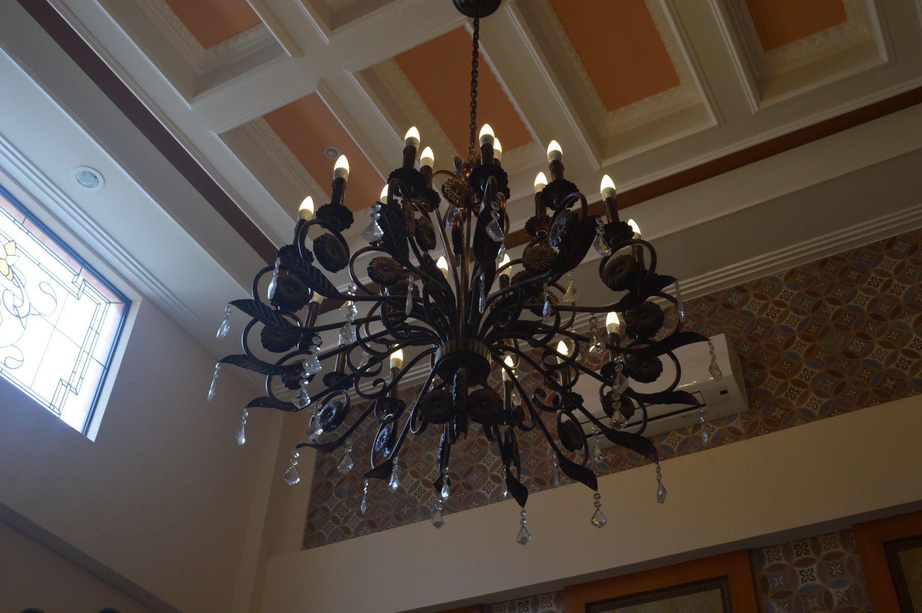 Candle Light Chandelier | Glass Railings Philippines, Glass ...