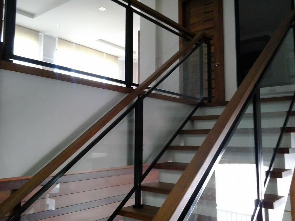 Glass Stair Railing | Glass Railings Philippines, Glass ...