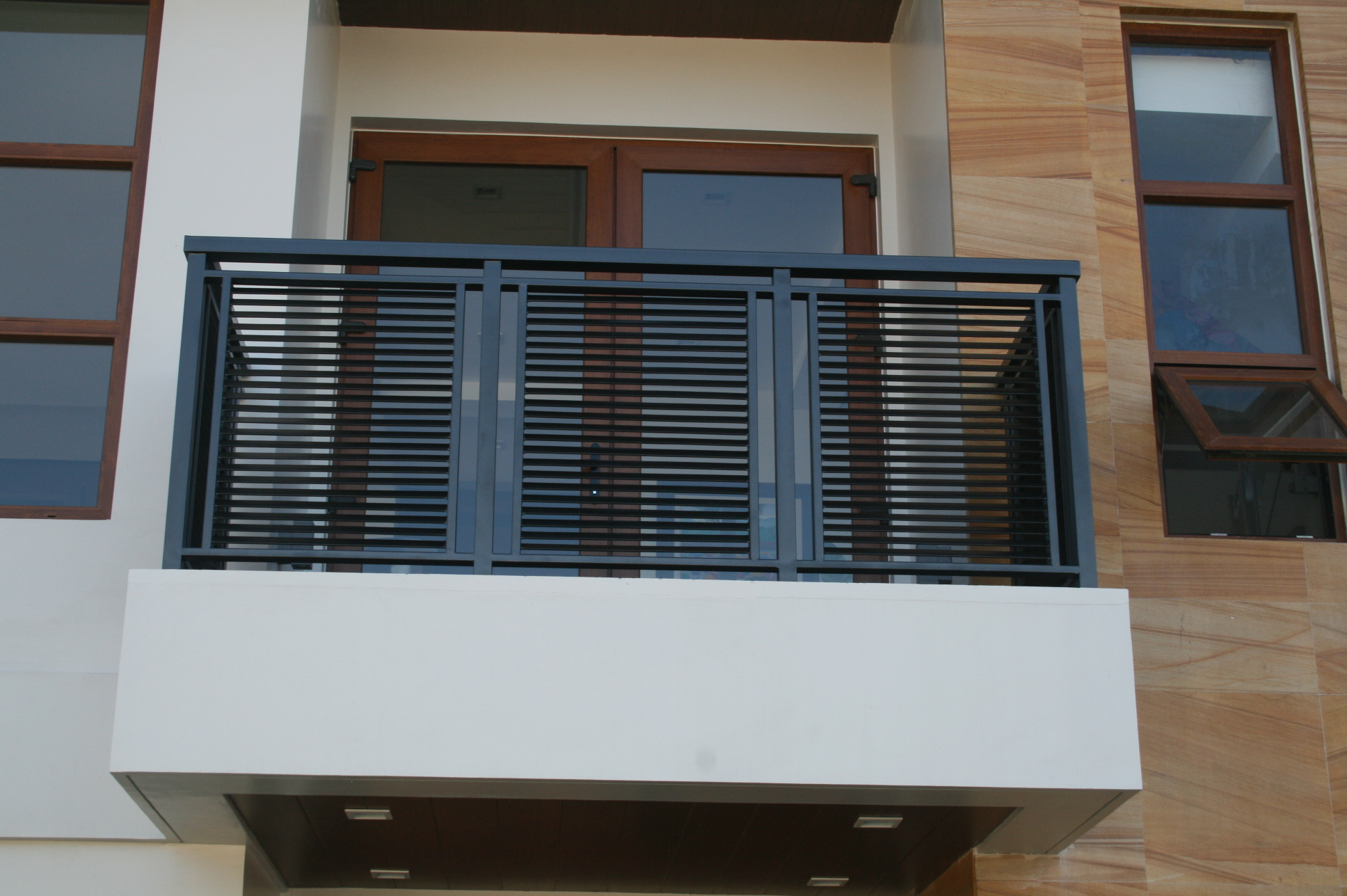 Latest design of window grills in the philippines - Modern Balcony Railing Philippines
