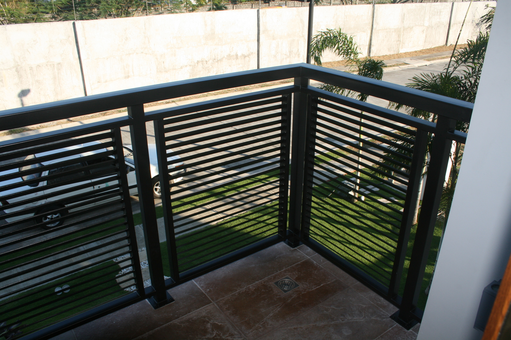 Stainless balcony railings design philippines joy studio for Terrace railings design philippines