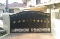 Wought Iron Entrance Gate, Pedestrian Gate.